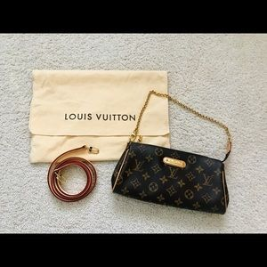 Louis Vuitton Eva Clutch In monogram